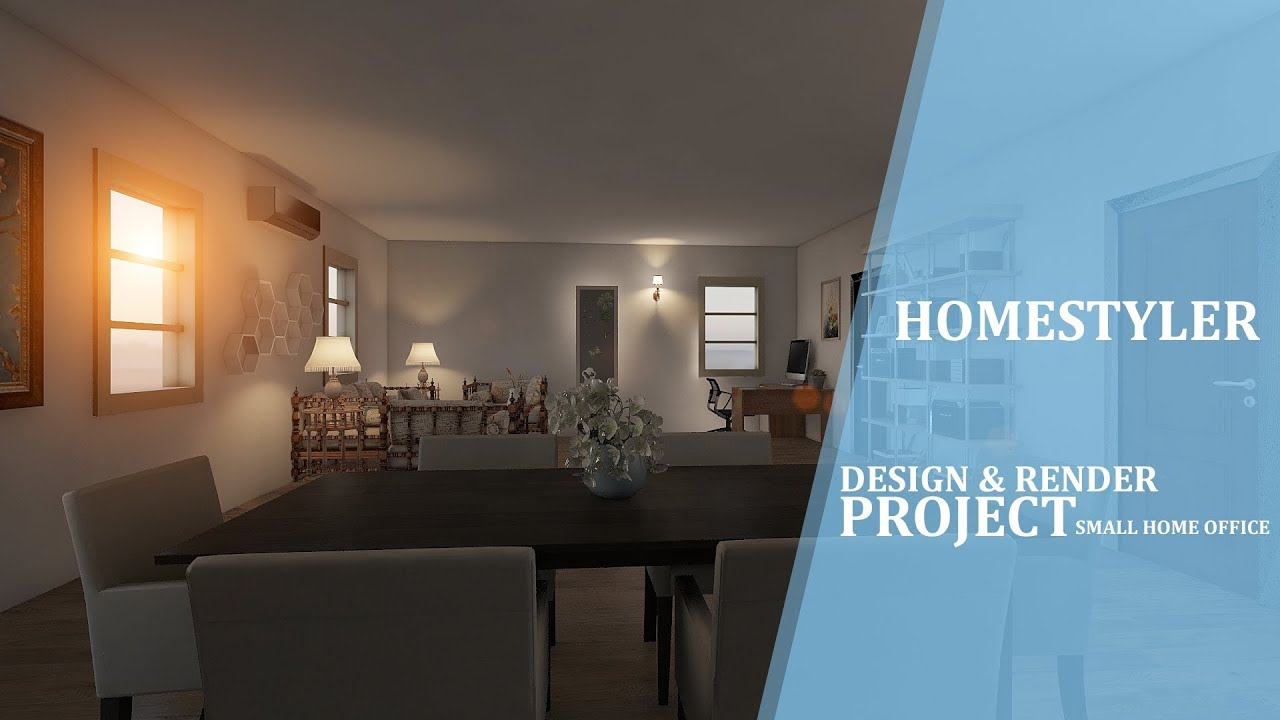 Interior Design Small Home Set Light And Render Homestyler Youtube