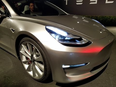 NEW Self Driving Car: Tesla Model 3