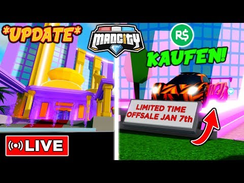neues update auto kaufen berf lle mad city roblox youtube. Black Bedroom Furniture Sets. Home Design Ideas