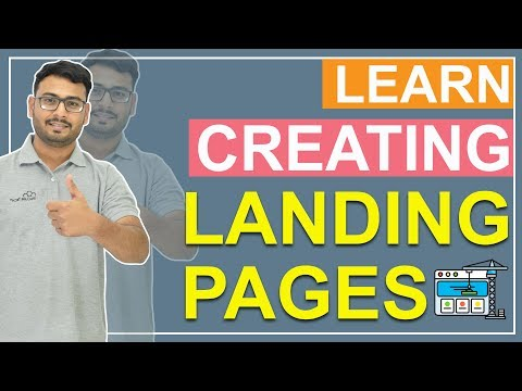 Create Landing Pages | Landing Pages Using MailChimp | Step-by-step Process | ( In Hindi )