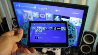 How to Setup Remote Play on PS Vita! (PLAY PS4 GAMES ON PS VITA) (EASY METHOD)