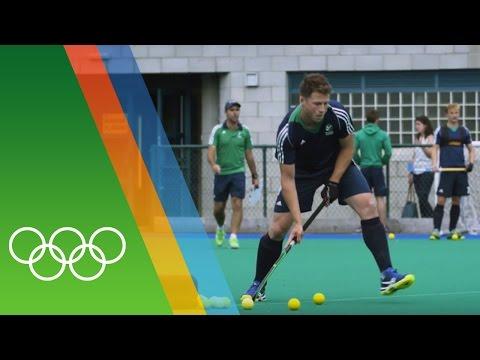 Training for Rio with the Irish Hockey team