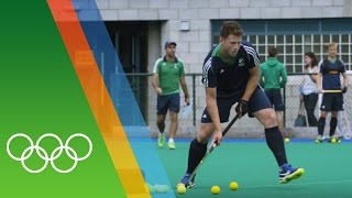 Training for Rio with the Irish Hockey team