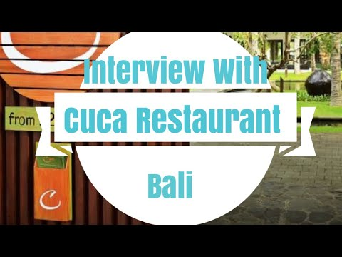 Campus Engagement  & Career Talk by Cuca Restaurant, Bali | 12th July 2017