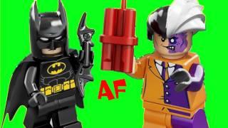 Batmobile & Two Face 6864 Lego Batman Superheroes Set Animated Building Review