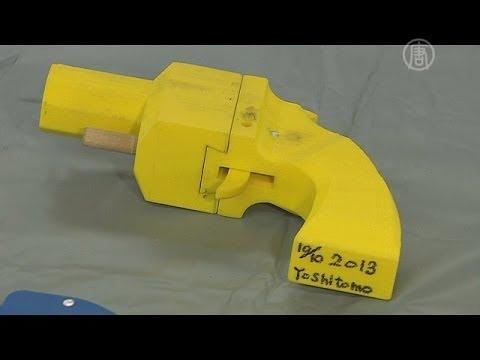 Японец печатал оружие на 3-D принтере (новости)