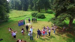 Шатер для свадеб в Усадьбе Суханово. Обзорное видео 2016 г.