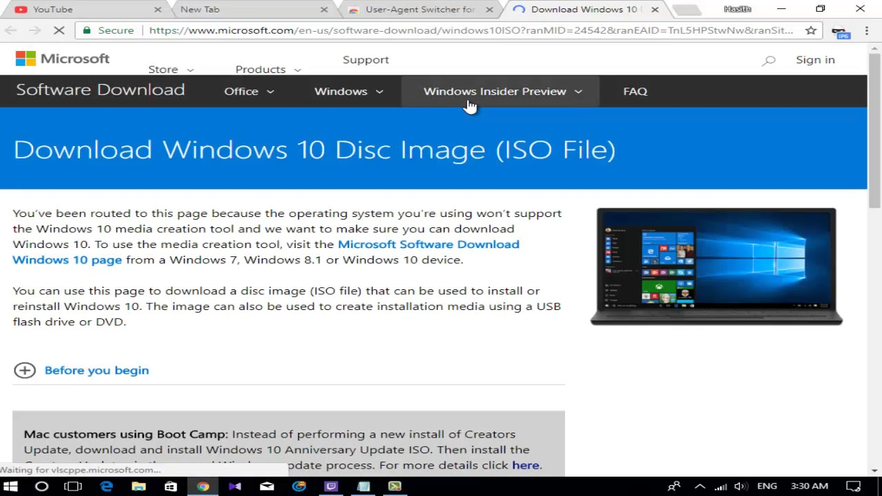 How To Download Windows 10 Iso File For Mac
