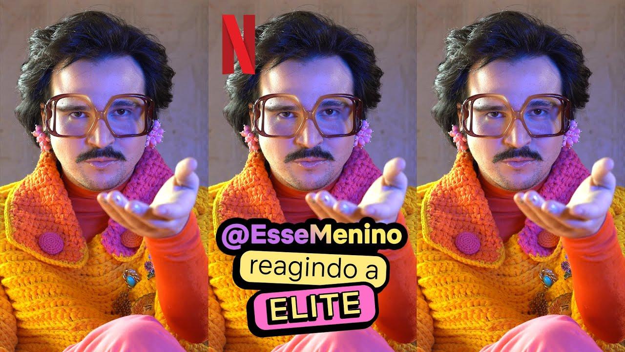 Esse Menino reagindo a Elite como uma tia   Netflix Brasil #Shorts