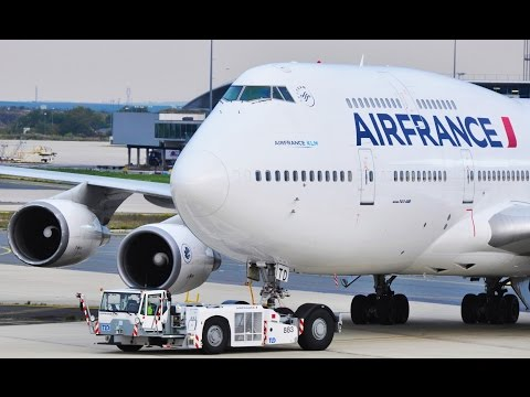 Tribute to the Boeing 747 Air France