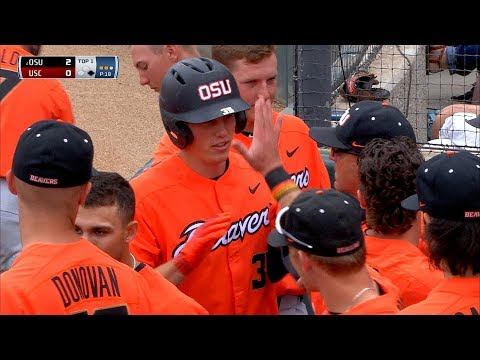 Recap: No. 2 Oregon State baseball handles USC easily with all-around effort