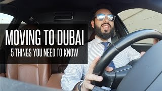 MOVING TO DUBAI or ABU DHABI - 5 Things You Need To Know !!!