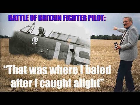 CRHnews - Battle Of Britain Pilot Returns To Where He Caught Fire