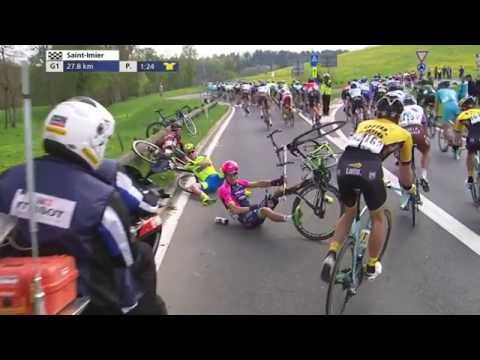 2015 Tour de Romandie: Stage 2 Highlights