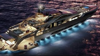 "2018 Pershing 140 Luxury Superyacht Project - The New Dimension of ""Pershing Thrill"""