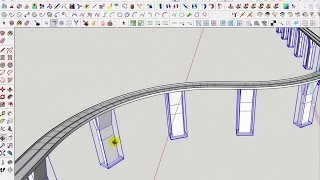 tutoriel Sketchup -création d'un pont