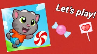 TALKING TOM CANDY RUN...SOOO FUN!! | Kids Games