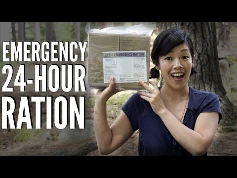 Emergency 24-hour RATION