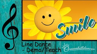 Smile - Line Dance