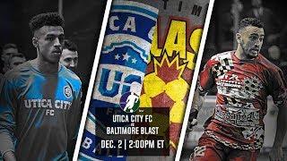 Utica City FC vs Baltimore Blast