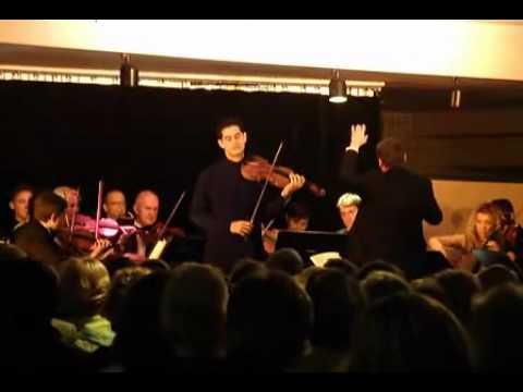 Mozart Violin Concerto No. 5 - Arnaud Sussmann, violin - 1st mvt