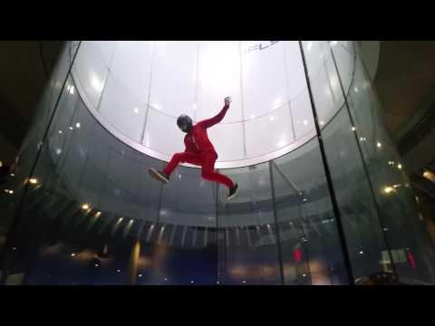 Indoor Skydiving Tricks