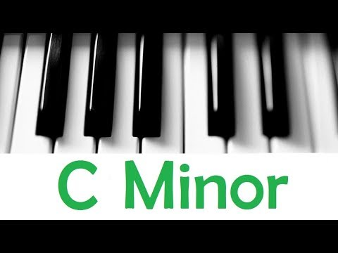 C Minor Scale Chords All Scales Chords Tutorial 25 Youtube