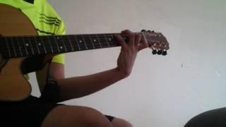 Trên dòng facebook này - Anh khang (guitar cover)