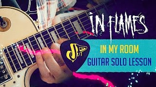 Скачать IN FLAMES In My Room Guitar Solo Cover Guitar Lesson JP Marques