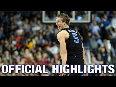 Luke Kennard Official Highlights | Duke Guard