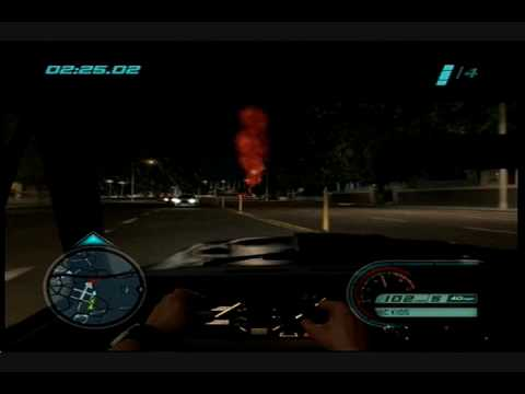 Midnight Club Los Angeles 湾岸- Mission 5 - HollyWood Hangout