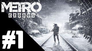 Metro Exodus Walkthrough Gameplay Part 1 – PS4 PRO 1080p Full HD – No Commentary