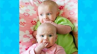 BEST FUNNY TRY NOT TO LAUGH - FUNNIEST BABIES SCARED AND STARTLED OF TOYS COMPILATION