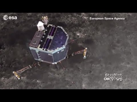 CNN Student News - July 13, 2017   An Unmanned Spacecraft Rosetta Back On Its Mission