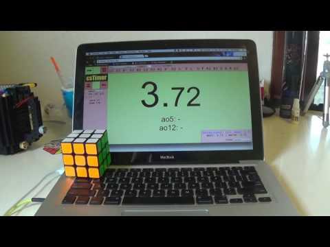 kỉ lục thế giới giải khối rubik 3x3x3 trong 3,72 giây