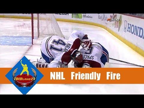 NHL Friendly Fire
