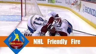 NHL Friendly Fire