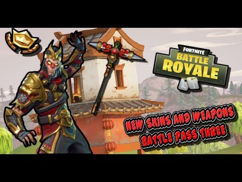 MONKEY KING!! - Season Three Fortnite Battle Royale