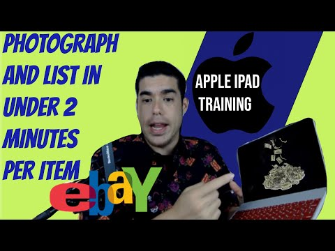 Comprehensive Ipad Ebay App Listing Training 2019 - How to sell online with IOS devices