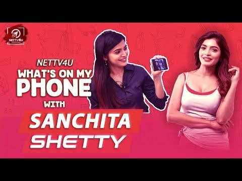 What's On My Phone With Sanchita Shetty | Exclusive Interview