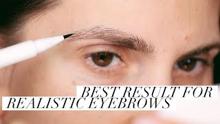 IS IT  MICROBLADING OR IS IT MAKEUP? | ALI ANDREEA