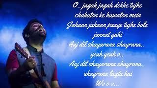 Aaj dil Shaayraana - Arijit Singh   Holiday   Akshay Kumar & Sonakshi Sinha   Pritam   Irshad K
