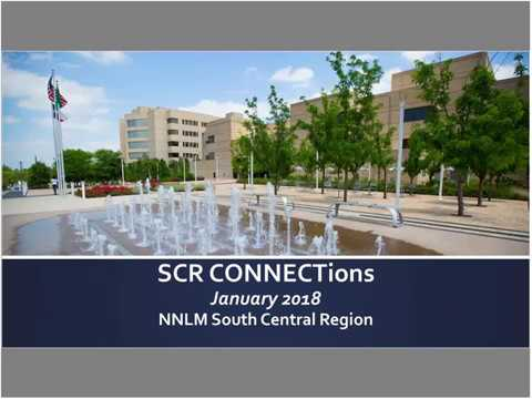 SCR CONNECTions - Trends in Technical Services (January 10, 2018)