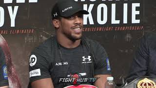 ANTHONY JOSHUA - 'I FIGHT WITH HEART AND HAVE FIRE IN MY BELLY!!'