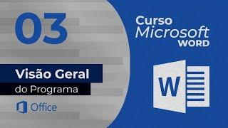 Curso de Microsoft Word - Visão Geral do Word
