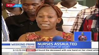 Two nurses receiving treatment after attack by disgruntled patient at Mama Lucy