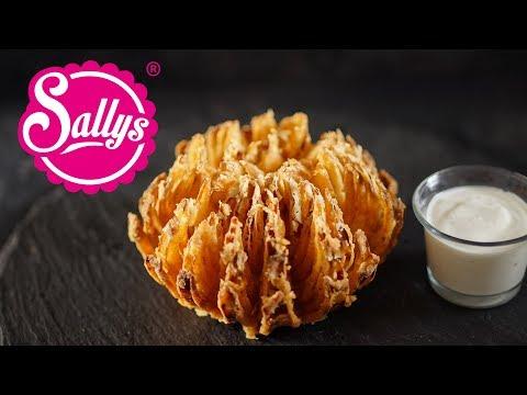 Frittierte Zwiebelblume / Onion Flower / Sallys Welt