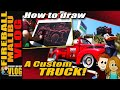 Kustom #FORD RAT ROD #PICKUP TRUCK - FMV343