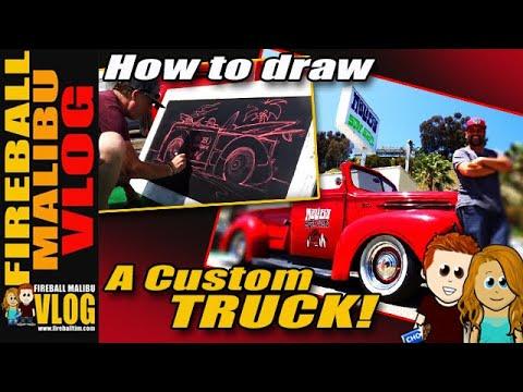 kustom ford rat rod pickup truck fmv343 youtube Chevy Low Riders kustom ford rat rod pickup truck fmv343