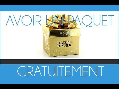 Avoir un paquet de Ferrero Rocher gratuitement (offre à vie)